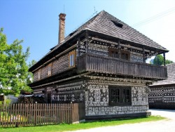 Museum of folk architecture in Čičmany