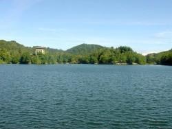 Počúvadlianske jazero Počúvadlo