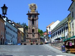 Szentháromság-szobor Banská Štiavnica (Selmecbánya)