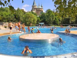 Thermal swimming pool Čajka Bojnice