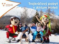 Novoročný Trojkráľový pobyt v Tatrách s neobmedzeným wellness Nový Smokovec