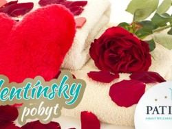 Valentínsky pobyt na víkend Patince