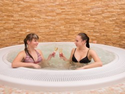 Wellness stay with thermal pools and massage Poľný Kesov