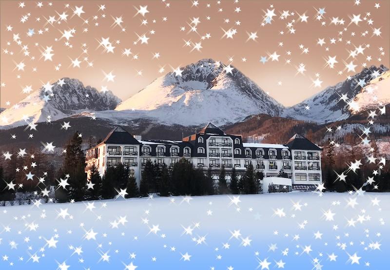 Čarovné Vianoce vo Vysokých Tatrách s voľným vstupom do wellness #1