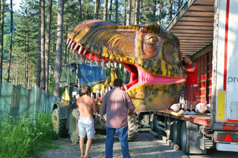 Dino Adventure Park Seilpark Terchova Slowakei Travelguide Sk