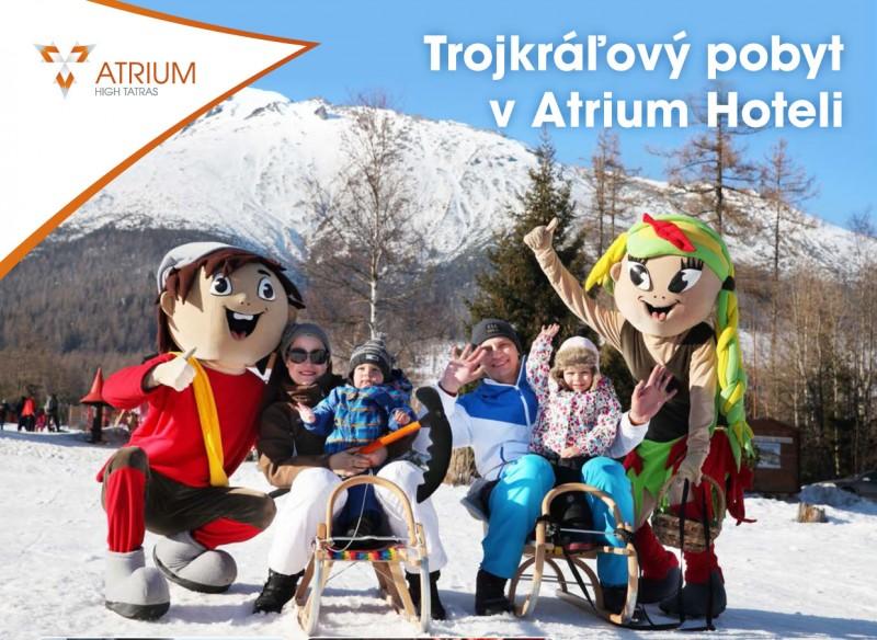 Novoročný Trojkráľový pobyt v Tatrách s neobmedzeným wellness #1