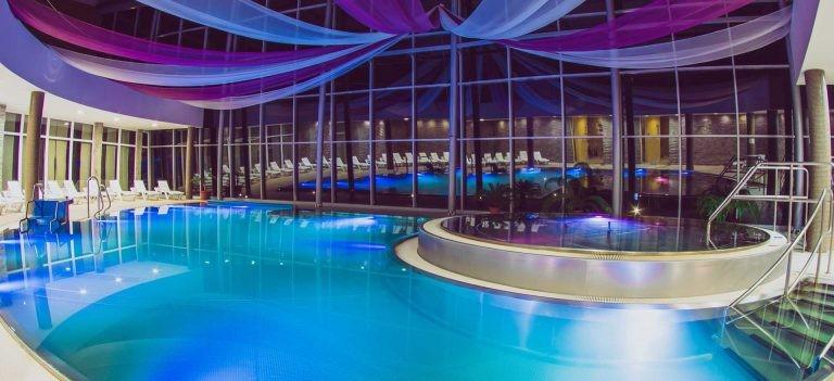 Víkend v Aquatermal (bazény + saunový svet) #1